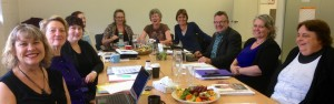 Pictured: Dr Kim McGregor, Kate Abel,...,..., ...Sandra Dixon, Louise Nicholas, Ken Clearwater, Kathryn McPhillips and ....